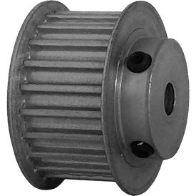 22 Tooth Timing Pulley, (Htd) 5mm Pitch, Clear Anodized Aluminum, 22-5m15-6fa3 - Min Qty 8