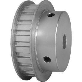 "22 Tooth Timing Pulley, (L) 3/8"" Pitch, Clear Anodized Aluminum, 22l050-6fa6 - Min Qty 3"