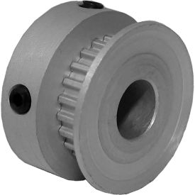 22 Tooth Timing Pulley, (Mxl) 0.08 Pitch, Gold Anodized Aluminum, 22mp012-6ca3 - Min Qty 8
