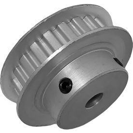 """22 Tooth Timing Pulley, (Xl) 1/5"""" Pitch, Clear Anodized Aluminum, 22xl025-6fa3 - Min Qty 8"""