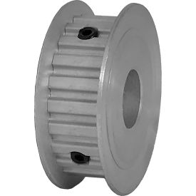 "22 Tooth Timing Pulley, (Xl) 1/5"" Pitch, Clear Anodized Aluminum, 22xl037-3fa6 - Min Qty 8"