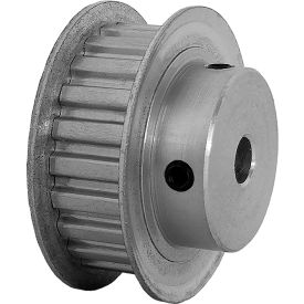 """22 Tooth Timing Pulley, (Xl) 1/5"""" Pitch, Clear Anodized Aluminum, 22xl037-6fa3 - Min Qty 8"""