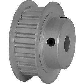 """22 Tooth Timing Pulley, (Xl) 1/5"""" Pitch, Clear Anodized Aluminum, 22xl037-6fa4 - Min Qty 8"""