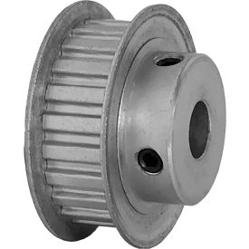 """22 Tooth Timing Pulley, (Xl) 1/5"""" Pitch, Clear Anodized Aluminum, 22xl037-6fa5 - Min Qty 8"""