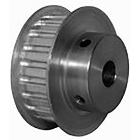 22 Tooth Timing Pulley, (Xl) 5.08mm Pitch, Clear Anodized Aluminum, 22xl037m6fa8 - Min Qty 5