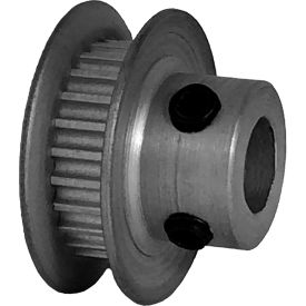 24 Tooth Timing Pulley, (Pwrgrip Gt) 2mm Pitch, Clear Anodized Aluminum, 24-2p03-6fa3 - Min Qty 8