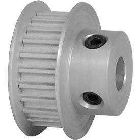 24 Tooth Timing Pulley, (Htd) 3mm Pitch, Clear Anodized Aluminum, 24-3m06-6fa3 - Min Qty 8