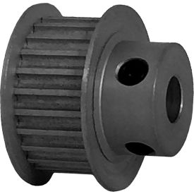 24 Tooth Timing Pulley, (Htd) 3mm Pitch, Clear Anodized Aluminum, 24-3m09-6fa3 - Min Qty 8