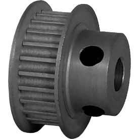 24 Tooth Timing Pulley, (Pwrgrip Gt) 3mm Pitch, Clear Anodized Aluminum, 24-3p06-6fa3 - Min Qty 8