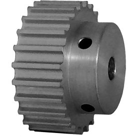24 Tooth Timing Pulley, (Htd) 5mm Pitch, Clear Anodized Aluminum, 24-5m09-6a3 - Min Qty 8