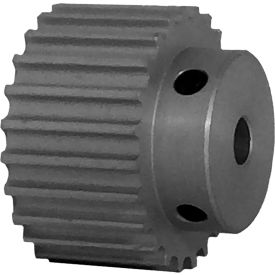 24 Tooth Timing Pulley, (Htd) 5mm Pitch, Clear Anodized Aluminum, 24-5m15-6a3 - Min Qty 5
