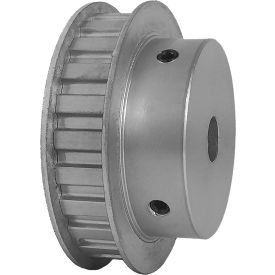 "24 Tooth Timing Pulley, (L) 3/8"" Pitch, Clear Anodized Aluminum, 24l050-6fa6 - Min Qty 3"