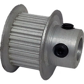 24 Tooth Timing Pulley, (Lt) 0.0816 Pitch, Clear Anodized Aluminum, 24lt312-6fa3 - Min Qty 8