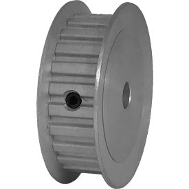 """24 Tooth Timing Pulley, (Xl) 1/5"""" Pitch, Clear Anodized Aluminum, 24xl037-3fa3 - Min Qty 8"""