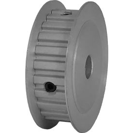 "24 Tooth Timing Pulley, (Xl) 1/5"" Pitch, Clear Anodized Aluminum, 24xl037-3fa4 - Min Qty 8"