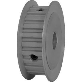 """24 Tooth Timing Pulley, (Xl) 1/5"""" Pitch, Clear Anodized Aluminum, 24xl037-3fa5 - Min Qty 8"""