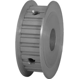 """24 Tooth Timing Pulley, (Xl) 1/5"""" Pitch, Clear Anodized Aluminum, 24xl037-3fa6 - Min Qty 5"""