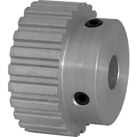 """24 Tooth Timing Pulley, (Xl) 1/5"""" Pitch, Clear Anodized Aluminum, 24xl037-6a5 - Min Qty 8"""