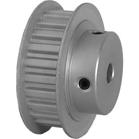 """24 Tooth Timing Pulley, (Xl) 1/5"""" Pitch, Clear Anodized Aluminum, 24xl037-6fa3 - Min Qty 8"""