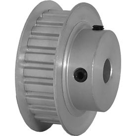 "24 Tooth Timing Pulley, (Xl) 1/5"" Pitch, Clear Anodized Aluminum, 24xl037-6fa4 - Min Qty 8"