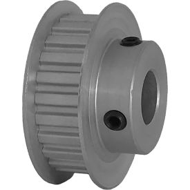 "24 Tooth Timing Pulley, (Xl) 1/5"" Pitch, Clear Anodized Aluminum, 24xl037-6fa6 - Min Qty 8"