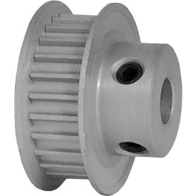 25 Tooth Timing Pulley, (Htd) 3mm Pitch, Clear Anodized Aluminum, 25-3m06-6fa3 - Min Qty 8