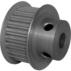 25 Tooth Timing Pulley, (Htd) 3mm Pitch, Clear Anodized Aluminum, 25-3m09m6fa6 - Min Qty 8