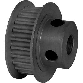 25 Tooth Timing Pulley, (Pwrgrip Gt) 3mm Pitch, Clear Anodized Aluminum, 25-3p06-6fa3 - Min Qty 8