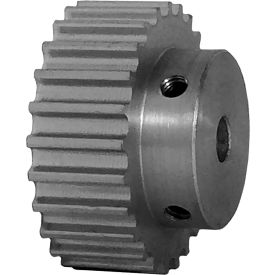 25 Tooth Timing Pulley, (Htd) 5mm Pitch, Clear Anodized Aluminum, 25-5m09-6a3 - Min Qty 5