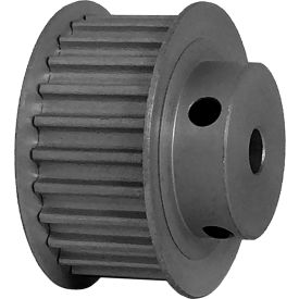 25 Tooth Timing Pulley, (Htd) 5mm Pitch, Clear Anodized Aluminum, 25-5m15-6fa3 - Min Qty 5