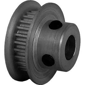 26 Tooth Timing Pulley, (Pwrgrip Gt) 2mm Pitch, Clear Anodized Aluminum, 26-2p03-6fa3 - Min Qty 8