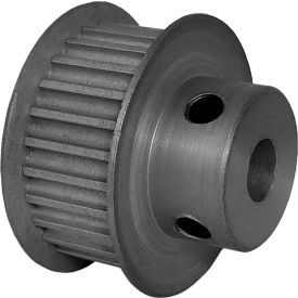 26 Tooth Timing Pulley, (Htd) 3mm Pitch, Clear Anodized Aluminum, 26-3m09m6fa6 - Min Qty 8