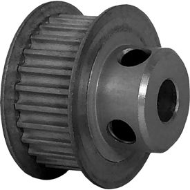 26 Tooth Timing Pulley, (Pwrgrip Gt) 3mm Pitch, Clear Anodized Aluminum, 26-3p09-6fa3 - Min Qty 8