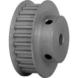 26 Tooth Timing Pulley, (Htd) 5mm Pitch, Clear Anodized Aluminum, 26-5m09-6fa3 - Min Qty 5