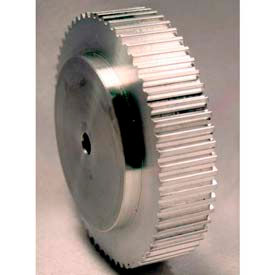 48 Tooth Timing Pulley, T 5mm Pitch, Aluminum, 27t5/48-0 - Min Qty 3
