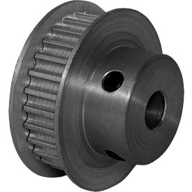 28 Tooth Timing Pulley, (Htd) 3mm Pitch, Clear Anodized Aluminum, 28-3m06m6fa6 - Min Qty 5