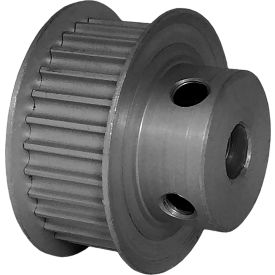 28 Tooth Timing Pulley, (Htd) 3mm Pitch, Clear Anodized Aluminum, 28-3m09m6fa6 - Min Qty 5