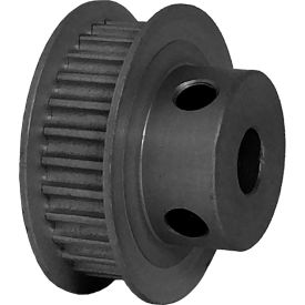 28 Tooth Timing Pulley, (Pwrgrip Gt) 3mm Pitch, Clear Anodized Aluminum, 28-3p06-6fa3 - Min Qty 8