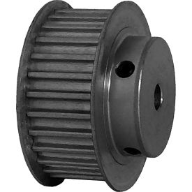 28 Tooth Timing Pulley, (Htd) 5mm Pitch, Clear Anodized Aluminum, 28-5m15-6fa3 - Min Qty 5