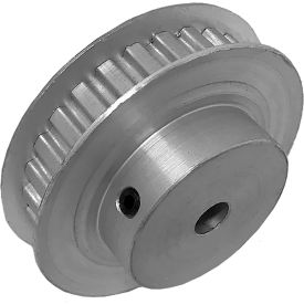 """28 Tooth Timing Pulley, (Xl) 1/5"""" Pitch, Clear Anodized Aluminum, 28xl025-6fa3 - Min Qty 5"""