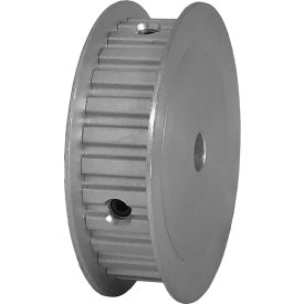 """28 Tooth Timing Pulley, (Xl) 1/5"""" Pitch, Clear Anodized Aluminum, 28xl037-3fa3 - Min Qty 5"""