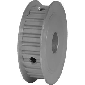 """28 Tooth Timing Pulley, (Xl) 1/5"""" Pitch, Clear Anodized Aluminum, 28xl037-3fa6 - Min Qty 5"""
