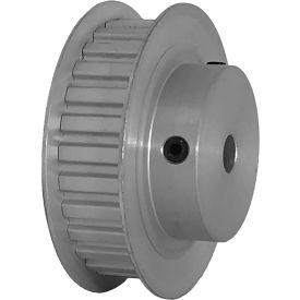 """28 Tooth Timing Pulley, (Xl) 1/5"""" Pitch, Clear Anodized Aluminum, 28xl037-6fa3 - Min Qty 5"""