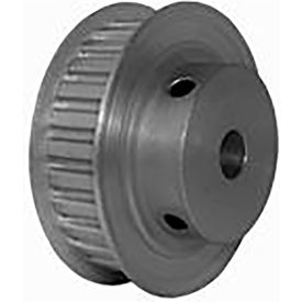 28 Tooth Timing Pulley, (Xl) 5.08mm Pitch, Clear Anodized Aluminum, 28xl037m6fa8 - Min Qty 4