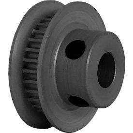 30 Tooth Timing Pulley, (Pwrgrip Gt) 2mm Pitch, Clear Anodized Aluminum, 30-2p03-6fa3 - Min Qty 5