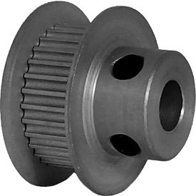30 Tooth Timing Pulley, (Pwrgrip Gt) 2mm Pitch, Clear Anodized Aluminum, 30-2p06-6fa3 - Min Qty 8
