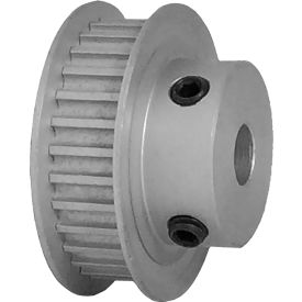 30 Tooth Timing Pulley, (Htd) 3mm Pitch, Clear Anodized Aluminum, 30-3m06-6fa3 - Min Qty 5