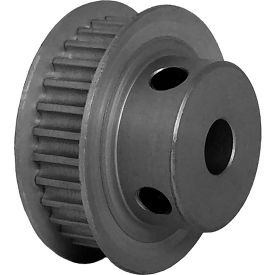 30 Tooth Timing Pulley, (Pwrgrip Gt) 3mm Pitch, Clear Anodized Aluminum, 30-3p06-6fa3 - Min Qty 8