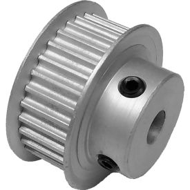 30 Tooth Timing Pulley, (Pwrgrip Gt) 3mm Pitch, Clear Anodized Aluminum, 30-3p09-6fa3 - Min Qty 8