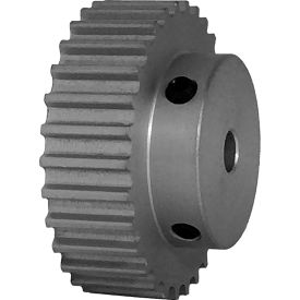 30 Tooth Timing Pulley, (Htd) 5mm Pitch, Clear Anodized Aluminum, 30-5m09-6a3 - Min Qty 5